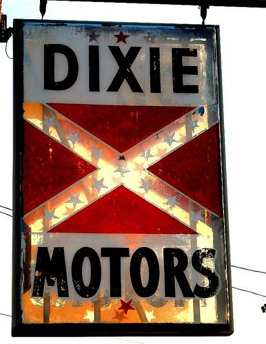 Dixie Motors Nashville Tennessee Neon Signs Old Advertisements Old Signs