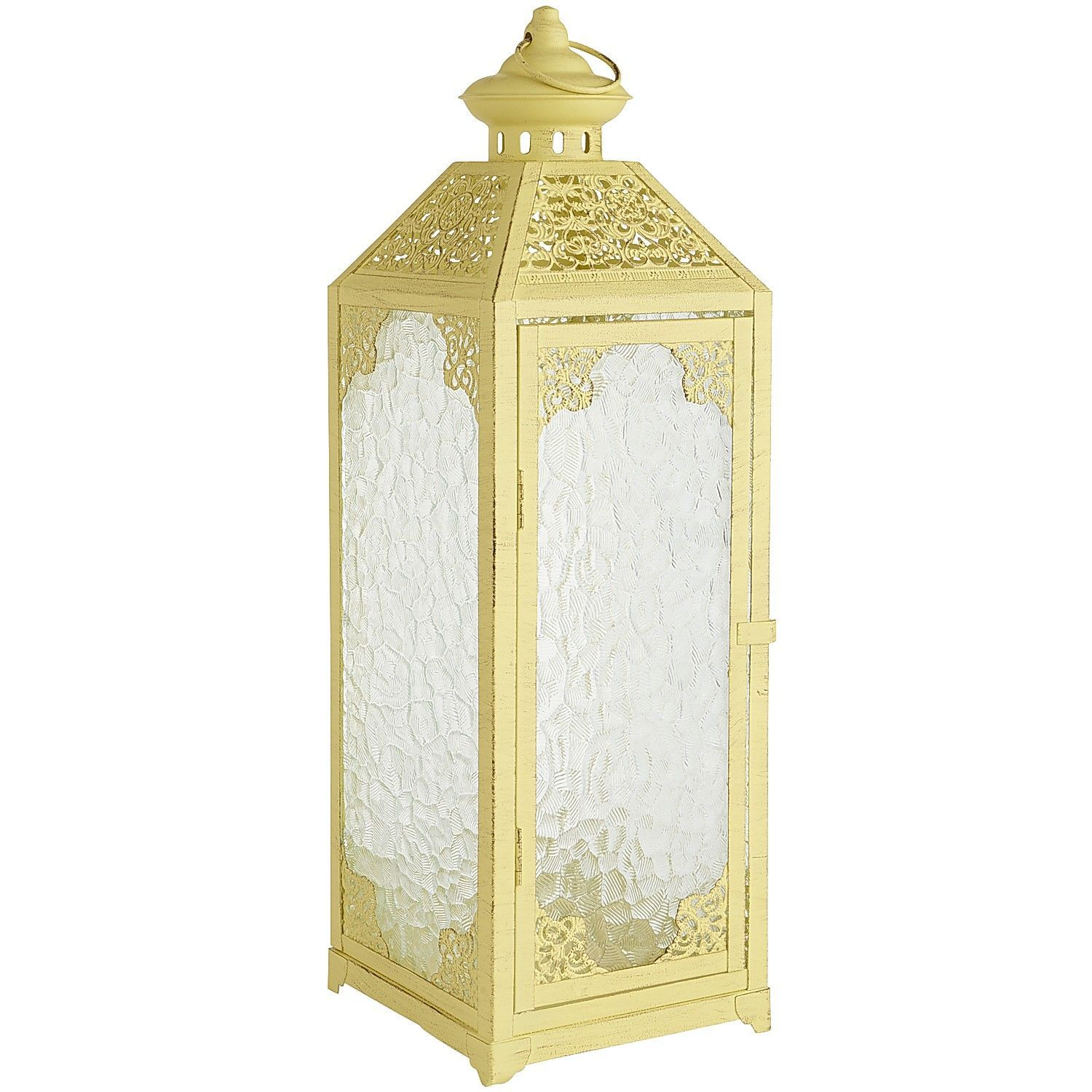 Pebble glass lantern yellow when it comes to ambient lighting