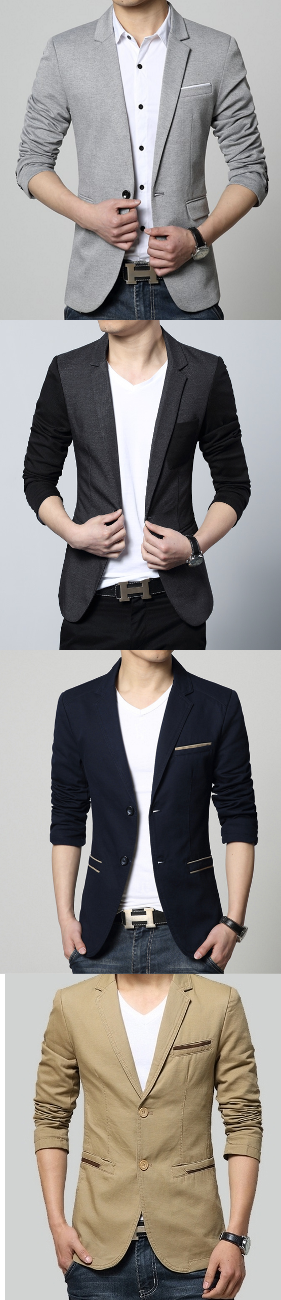 Men's Blazers and Sports Jacket. Men's fashion 2016. Casual and Business Casual for Men