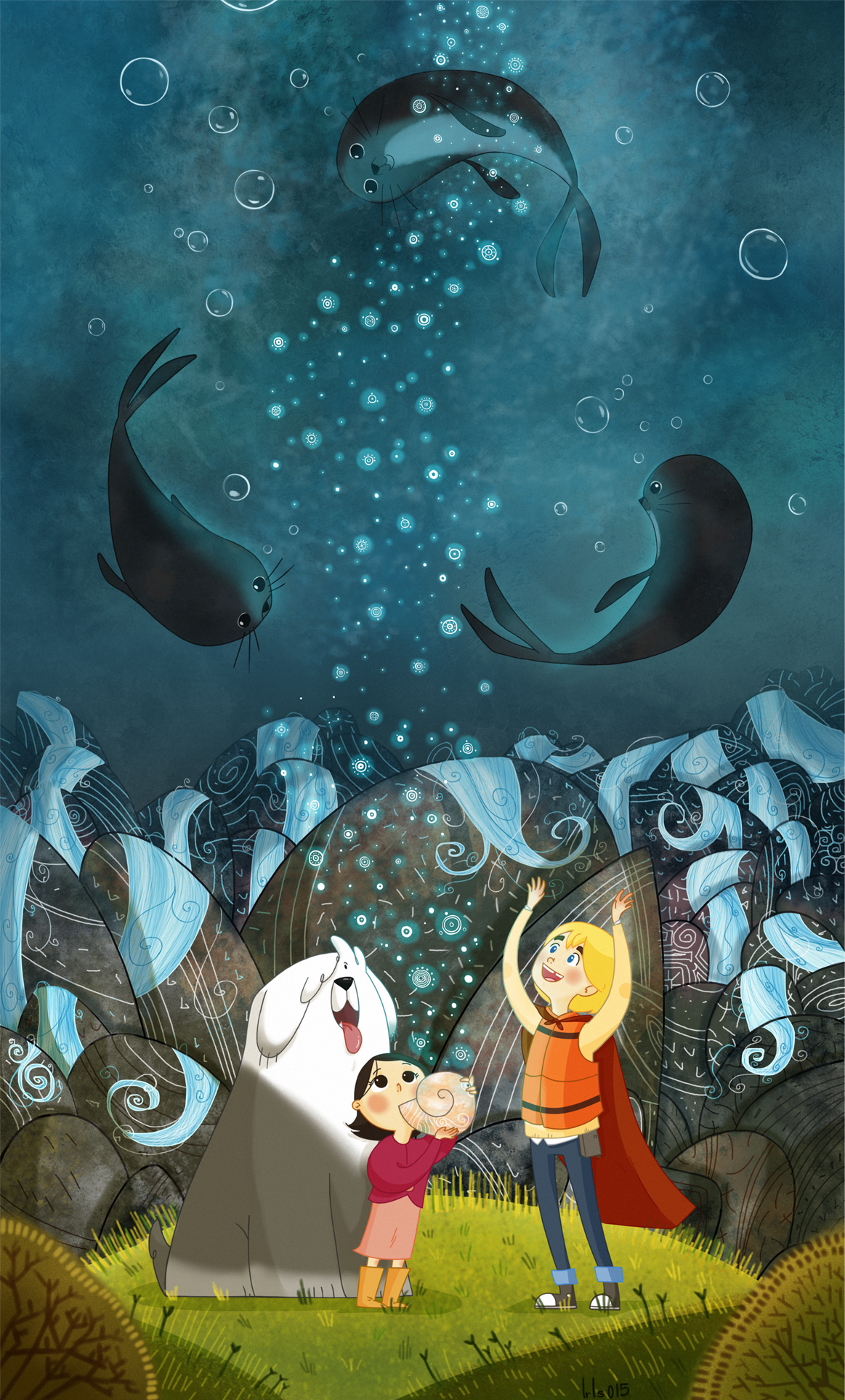 Fanart. songofthesea The secret of kells, Animated movies