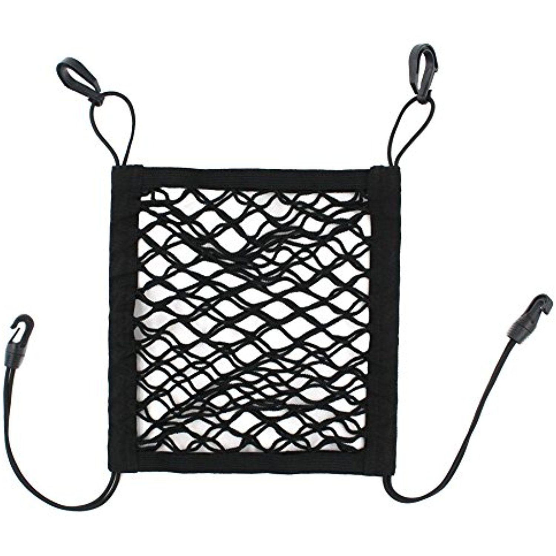 Genenic Back Seat Dog Barrier Black Dog Car Net Barrier