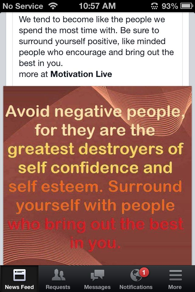 Surrounding Yourself With Positive People Inspiring Negative