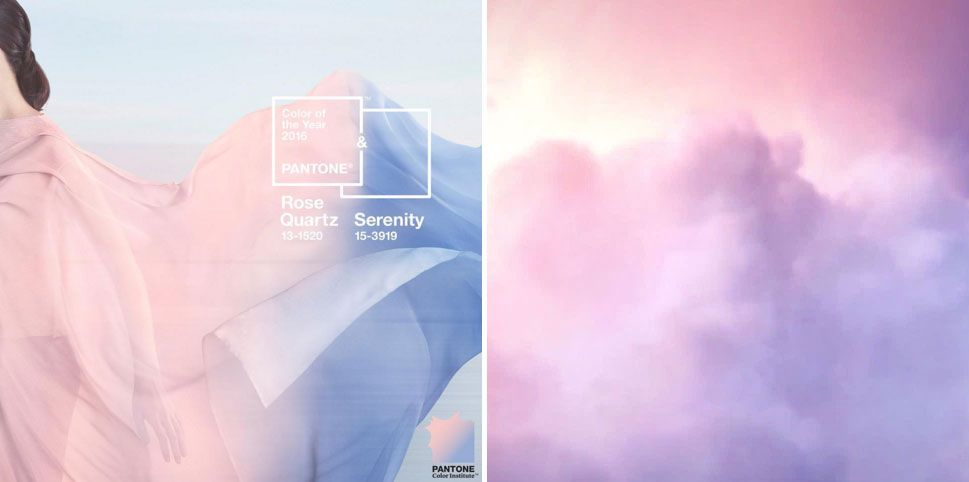 Pantone Have Announced Their Two Colours Of The Year For 2016