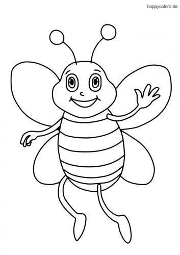 Pin Auf Biene