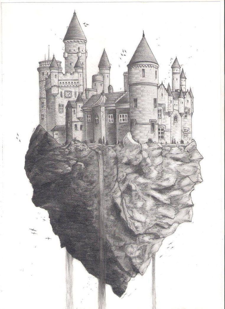 kastelenimpressie, ontwerp voor droomvlucht (copyright: efteling