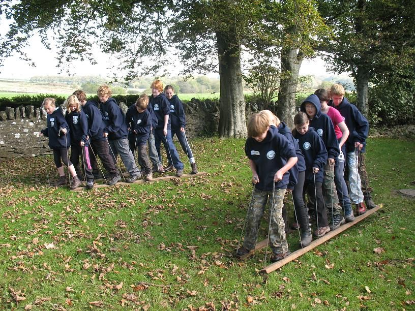 Crocodile up to ashore outdoor teamwork games | teambuilding games ...