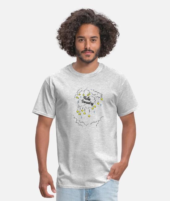 hello january Men's T-Shirt   Spreadshirt