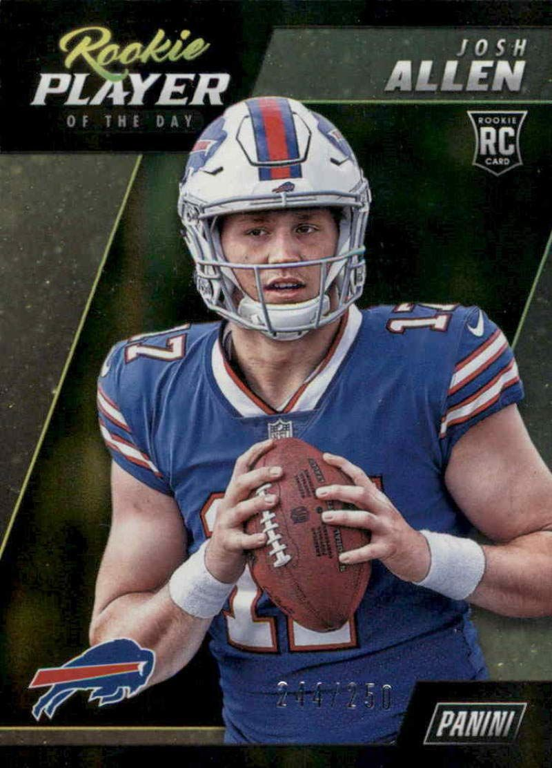 Amazon com football nfl 2018 panini player of the day in