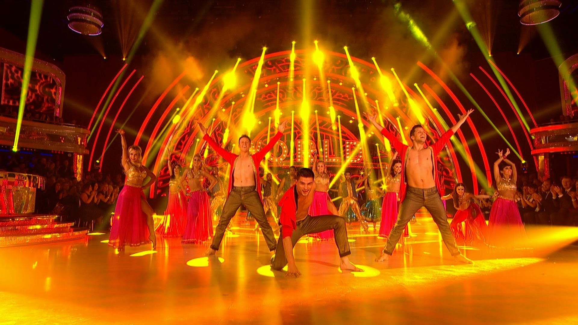 Strictly Pros Bollywood Dance For Around The World Week Strictly Come Strictly Come Dancing Bollywood Dance Bbc Strictly Come Dancing