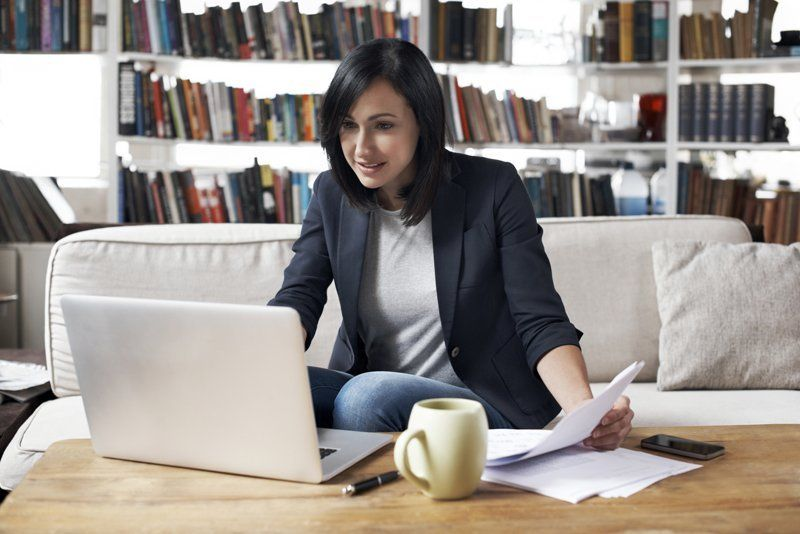 Home Office Work Artsy Image From Gettyimages Better Homes