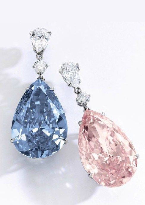 Marie Antoinette Dangle Earrings with Aquamarine and Sapphire Swarvoski round drops and Beautiful Blue Drops