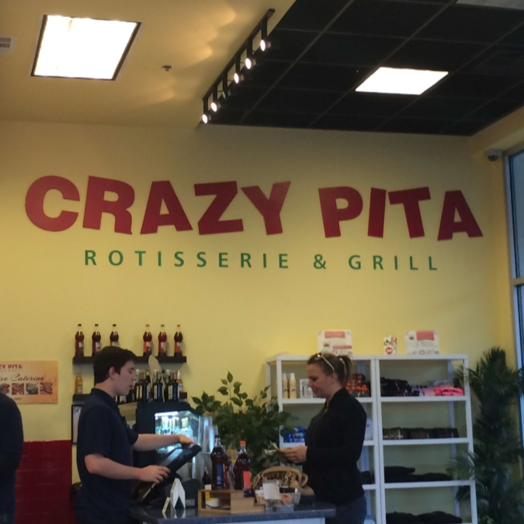 Only in Vegas. A pita place with no tahini.