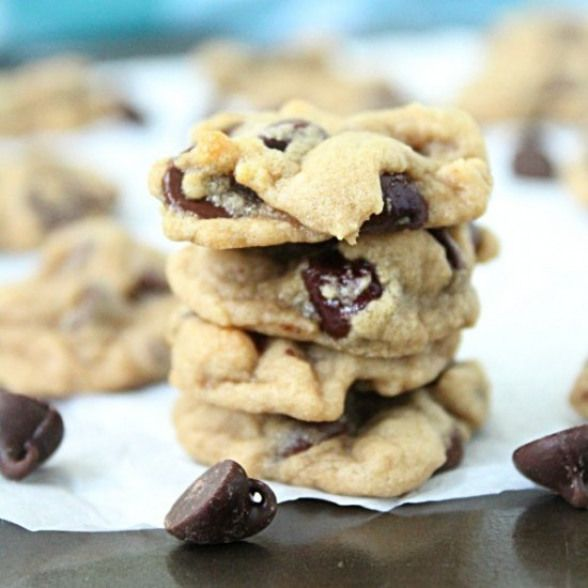 Mini Chocolate Chip Cookies. Delicious and guilt free ...
