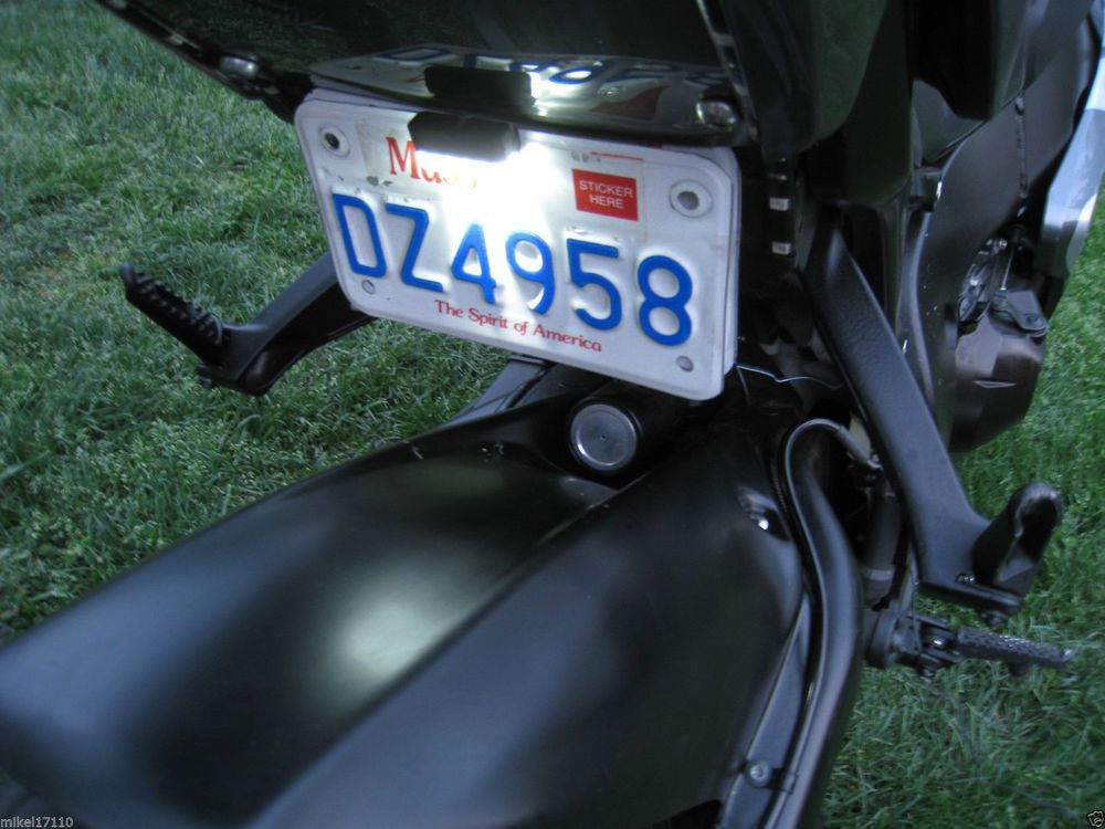 Details About New Universal Motorcycle Car Led Tag Light License