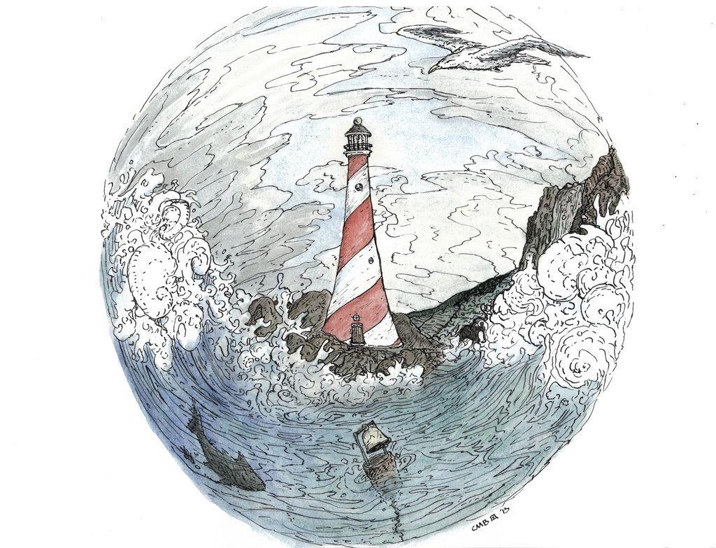 Sea Bell, Sea Gulls by Metr0n0me.deviantart.com on @deviantART