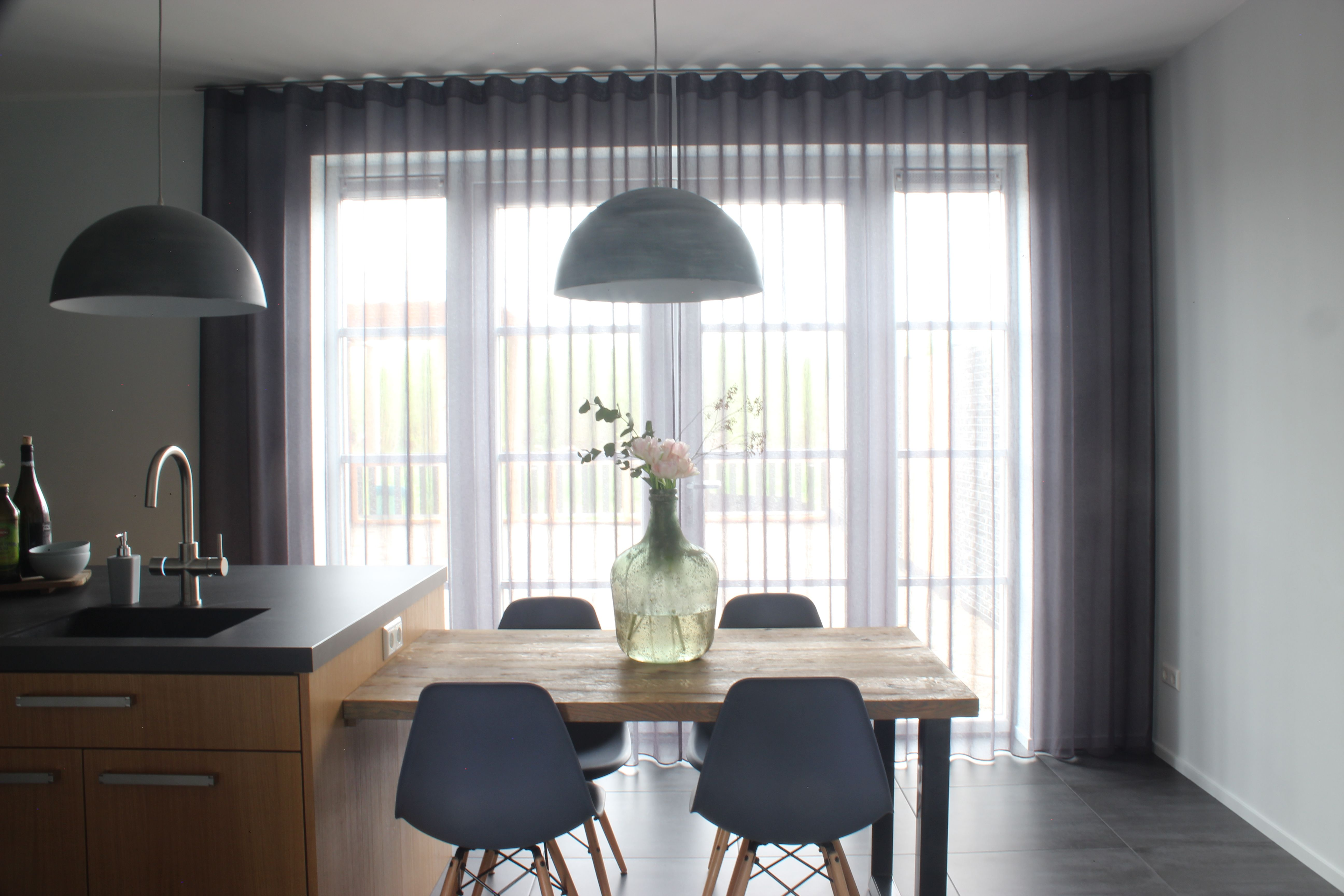 Wat een rust! #linnen #gordijnen #interieur #keuken ...