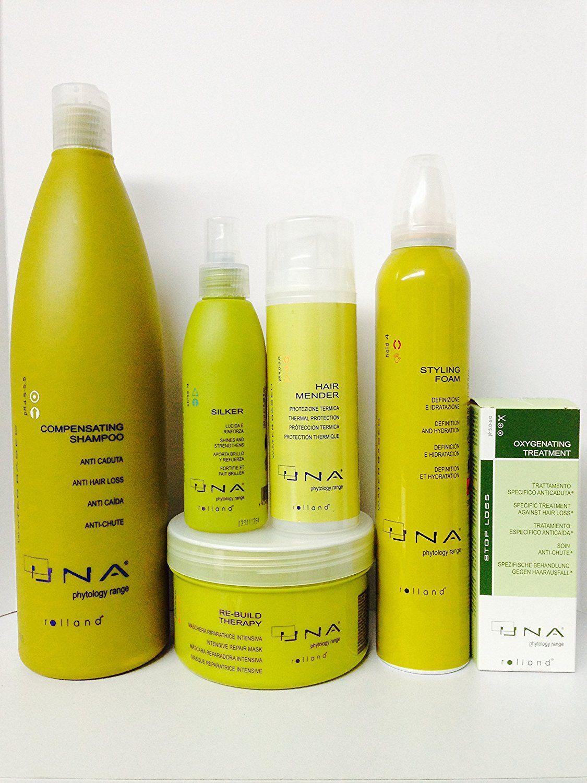 Rolland UNA Compensating Shampoo Anti Hair Loss 34 Oz, Re