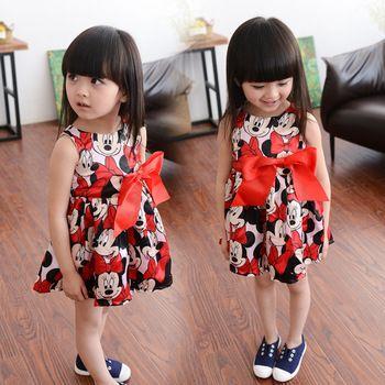 mickey sleeveless dress