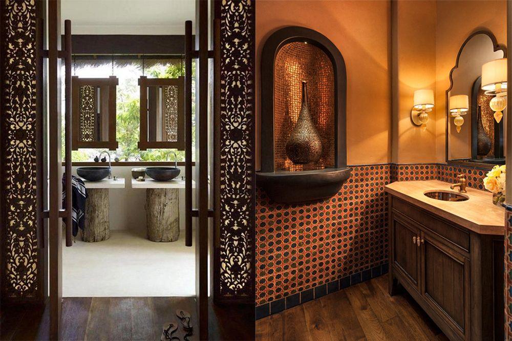 Marokkanisches Badezimmer: 2018 Badezimmer Trends aus dem Osten ...