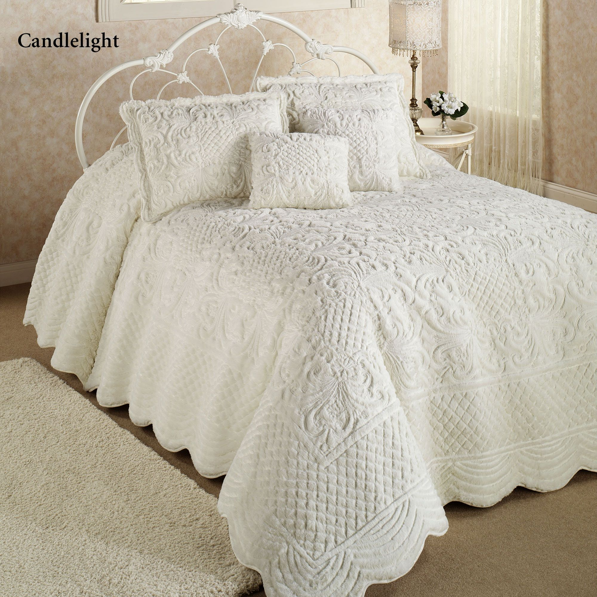 Whisper Candlelight Soft Oversized Quilted Bedspread White Bedspreads Small Bedroom Decor Bed Spreads