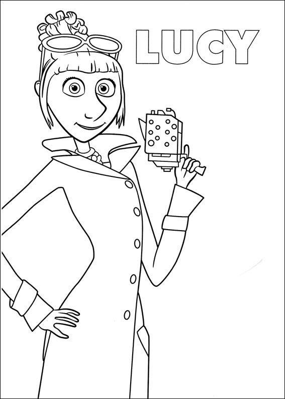 Dibujo de Lucy de Mi Villano Favorito para colorear ...