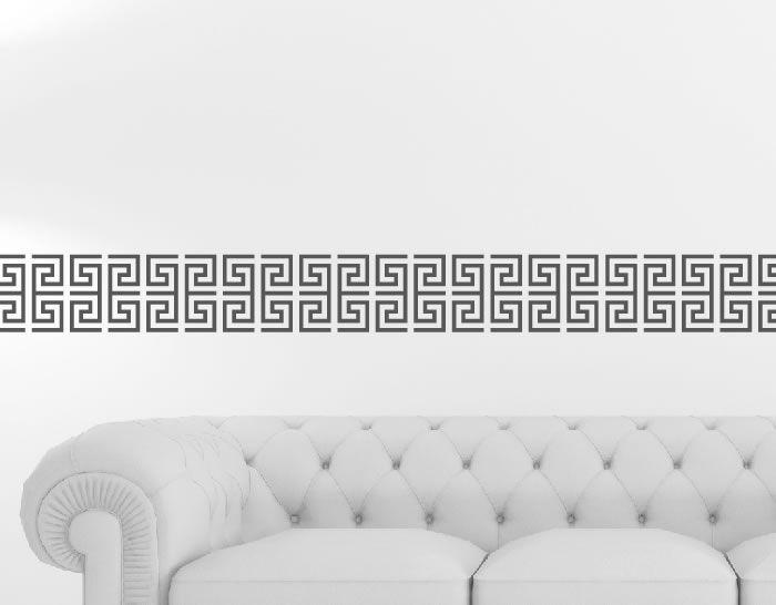 Cenefa de vinilo de estilo zrn para decoraci n de ba os for Decoracion de pasillos