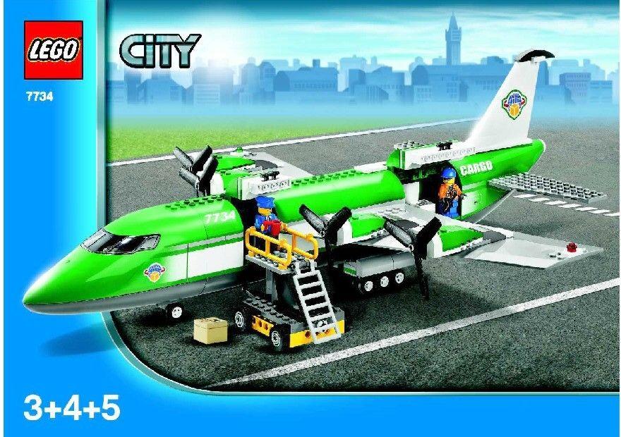 City Cargo Plane Lego 7734 Lego Sets Of Epicness Pinterest