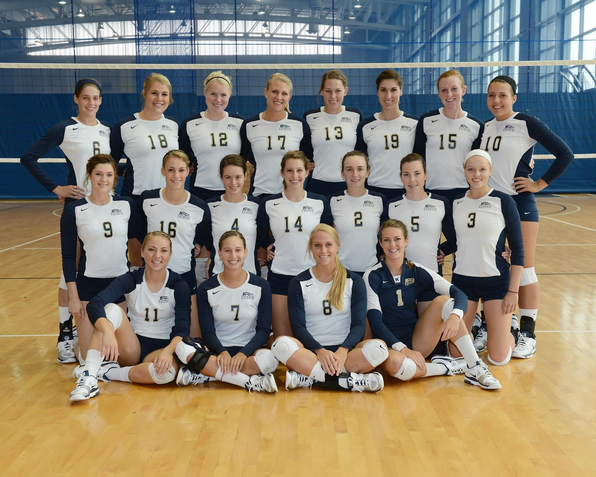 2012 Navy Volleyball Team Team Pictures Naval Academy United States Naval Academy