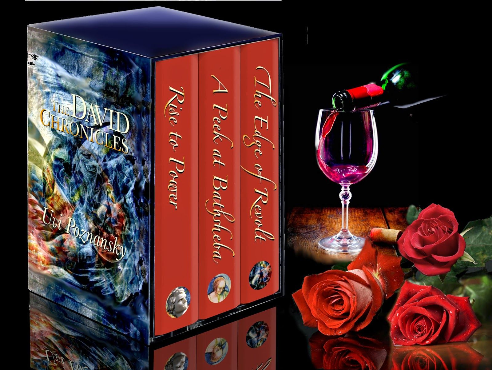 Uvi Poznansky A Portrait Of Our Love Rippling There Across The Surface Of The Wine Ripple Our Love Great Books To Read