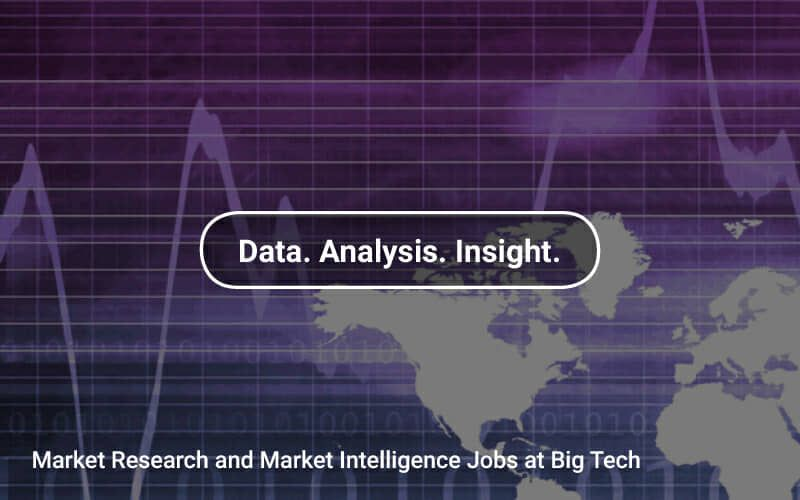 Marketresearch And Market Intelligence Jobs At Bigtech Companies Https Tapwage Com Channel Data Analysis Insight Job Market Research Data Science