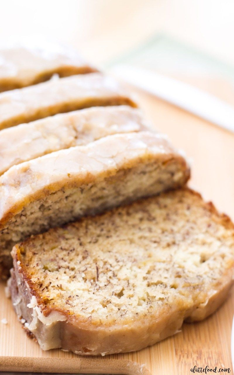 dcae703dedd This maple glazed banana bread is an updated take on the classic banana  bread recipe! This recipe begins with my mom s banana bread recipe