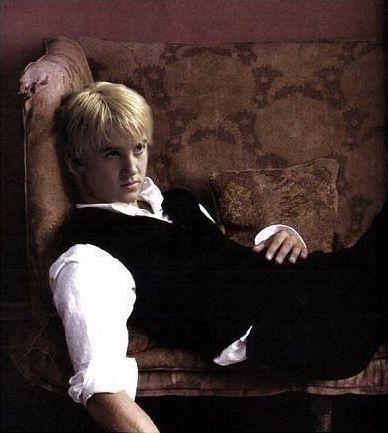 blondie, draco malfoy