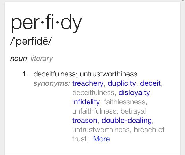 Perfidy | words/definitions | Unusual words, Words, Words to use