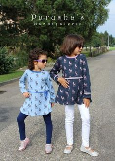 Freebook little sweat Tunic