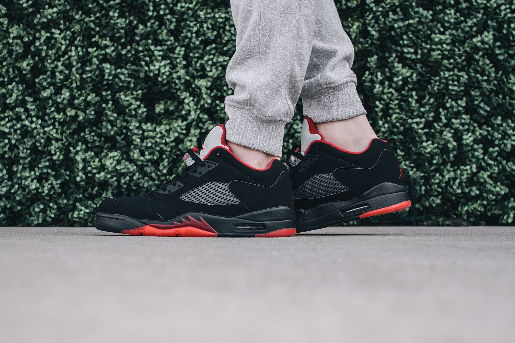 "the latest 636e2 f3b49 On-Foot: Air Jordan 5 Retro Low ""Alternate 90â 