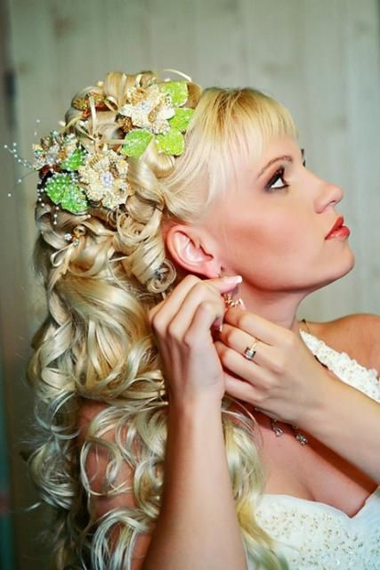 Super 1000 Images About Bridal Hair Style On Pinterest Wedding Hairstyles For Women Draintrainus