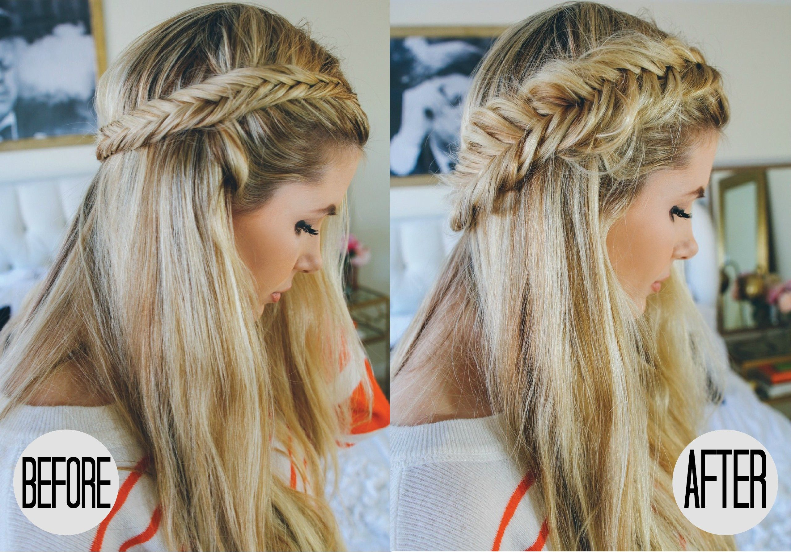Pull Apart Dutch Braid Tutorial With Images Fishtail Braid