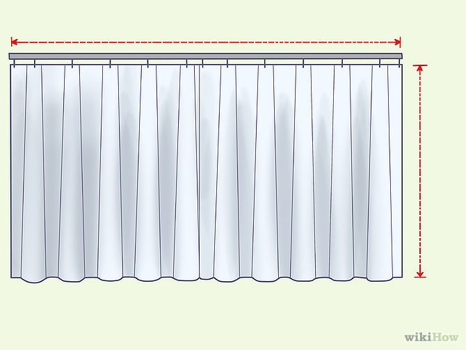 How To Line Store Bought Curtains.