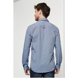 Tom Tailor Herren Chambray Hemd, blau, Gr.M Tom TailorTom Tailor