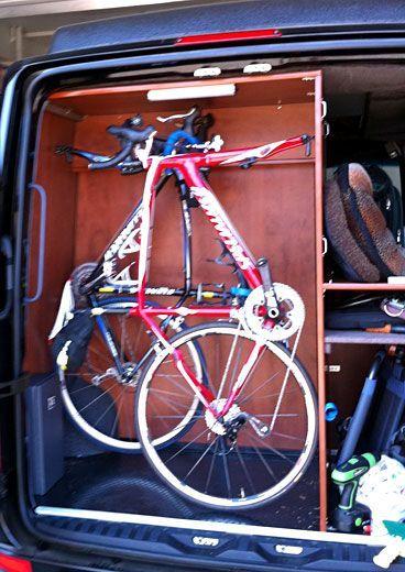 Gallery Bicycle Friendly Campervans Camper Van Bike Storage In