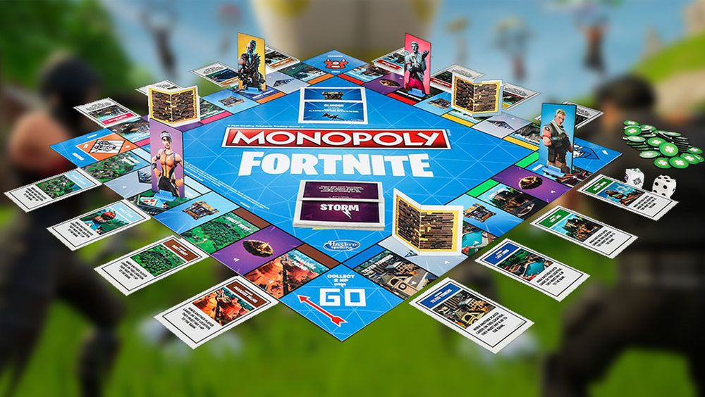 Fortnite Monopoly Limited Edition Board Game 2018 Hasbro