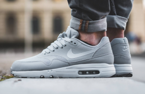 b20ae268fe3492 Wolf Grey Covers The New Nike Air Max 1 Ultra Essential 2.0 ...