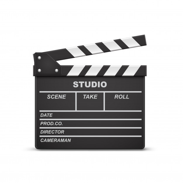 Download 3d Realistic Illustration Of Open Movie Clapperboard Or Clapper Isolated On Background For Free Timeline Infographic Design Infographic Design Template Poster Mockup
