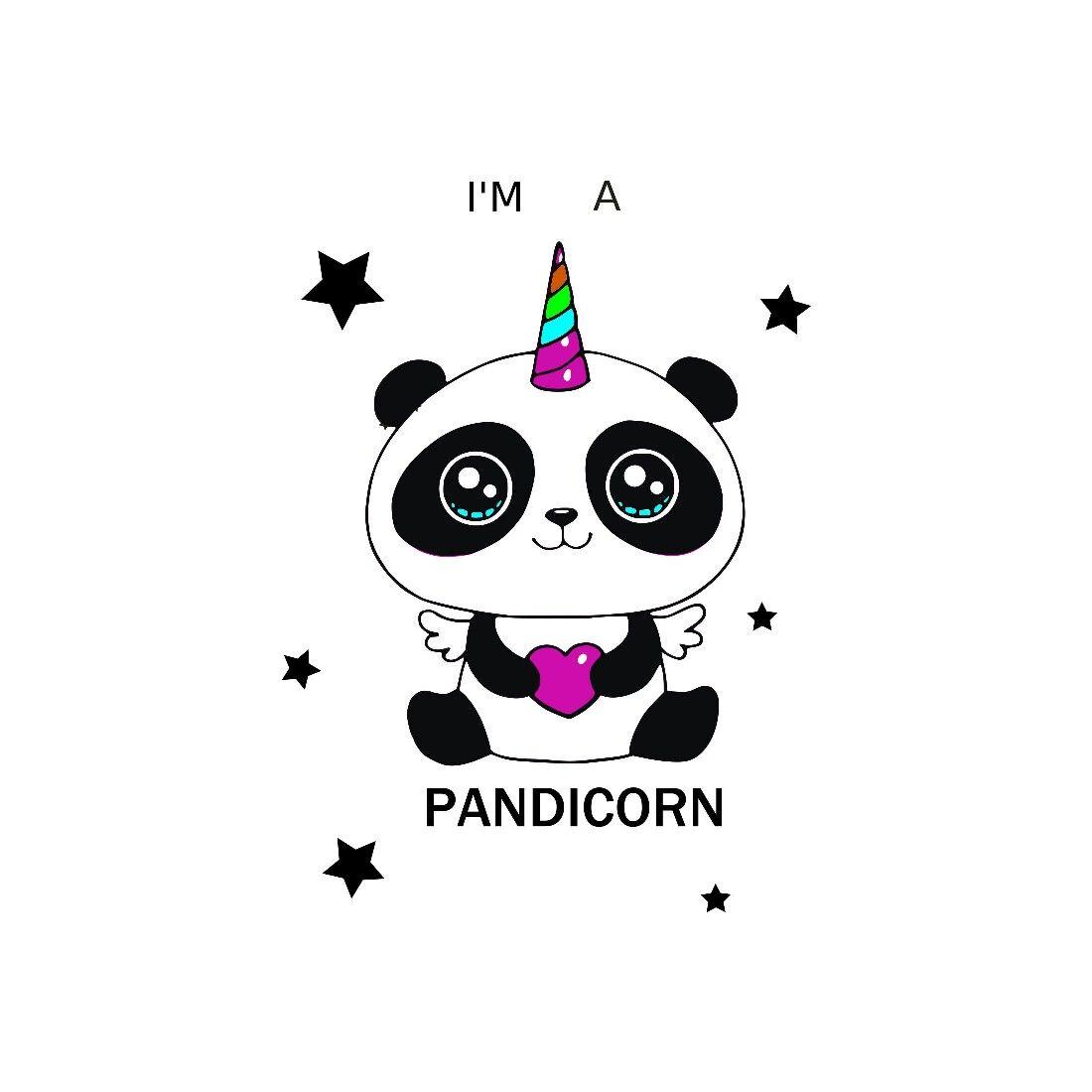 Voici Ce Que Je Viens D Ajouter Dans Ma Boutique Etsy Unicorn Svg Silhouette Unicorn Pandicorn Unicorn Vector Cute Panda Wallpaper Panda Drawing Panda Art