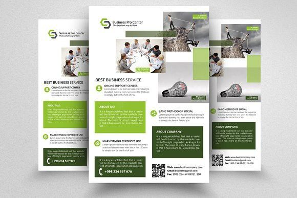 Professional Flyer Templates Flyer Template Template And Poster - Professional flyer templates