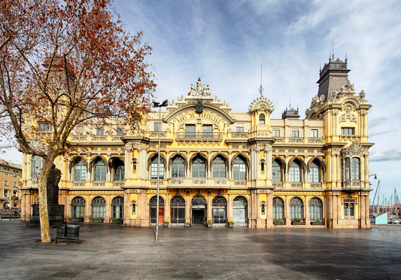 Edifici De La Junta D Obres Del Port Julio Valdes 1903 1907 Barcelona