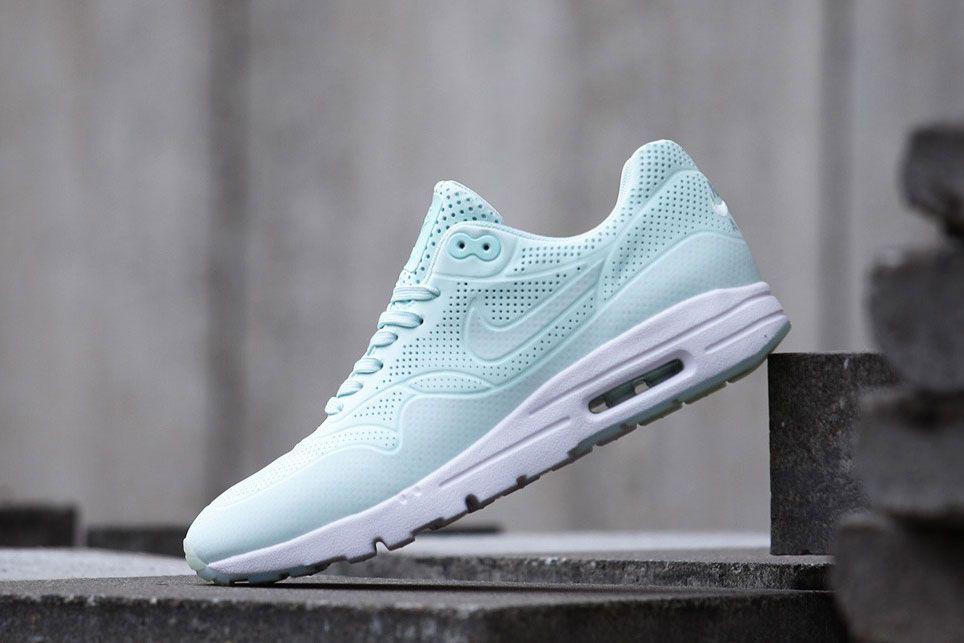 Discount Nike Air Max 1 Ultra Moire Shoes Fiberglass White