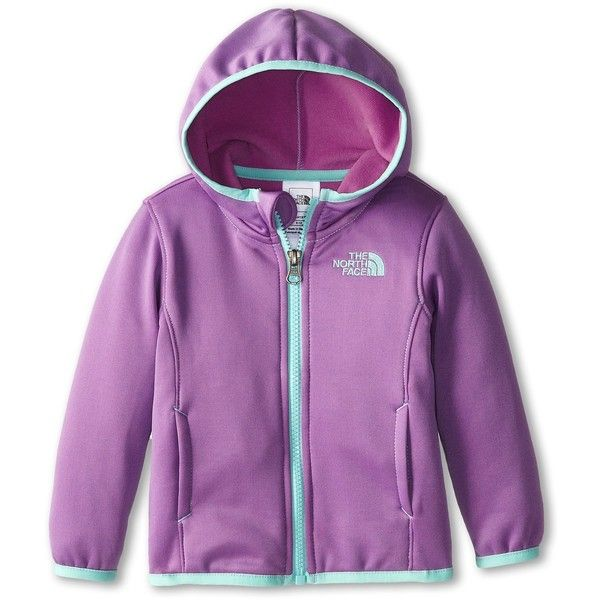 The North Face Kids LW Agave Jacket (Infant) (155 BRL) ❤ liked on Polyvore featuring coats & outerwear and iris purple