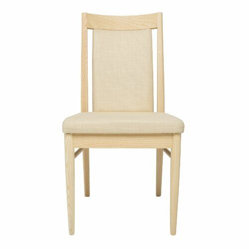 Novoli Solid Wood Dining Chair Ercol Frame Colour Cream Solid