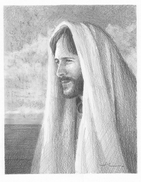 jesus pencil portrait by mike theuer on ARTwanted | Pencil ...